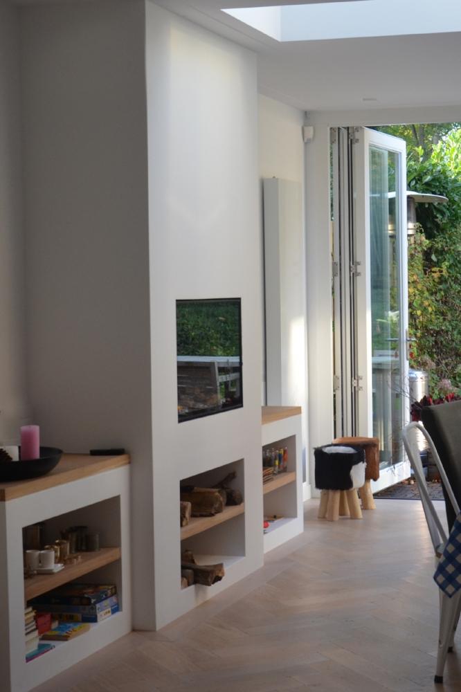 aanbouw woonhuis zeist boks architectuur. Black Bedroom Furniture Sets. Home Design Ideas