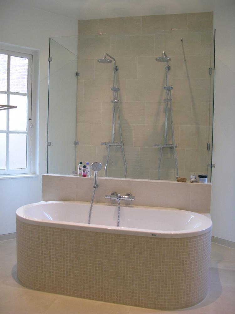 Renovatie villa utrecht boks architectuur - Moderne wasruimte ...