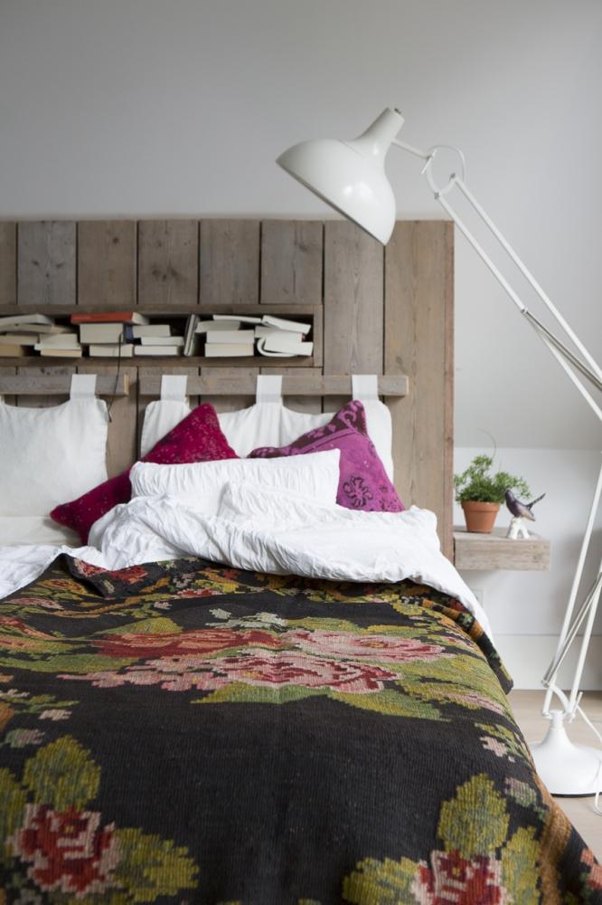 Slaapkamer Muur Steigerhout : Steigerhout muur slaapkamer : slaapkamer ...