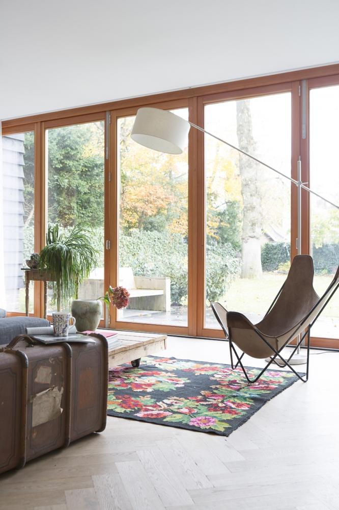 woonkamer houten pui glas licht Archives - Boks architectuur