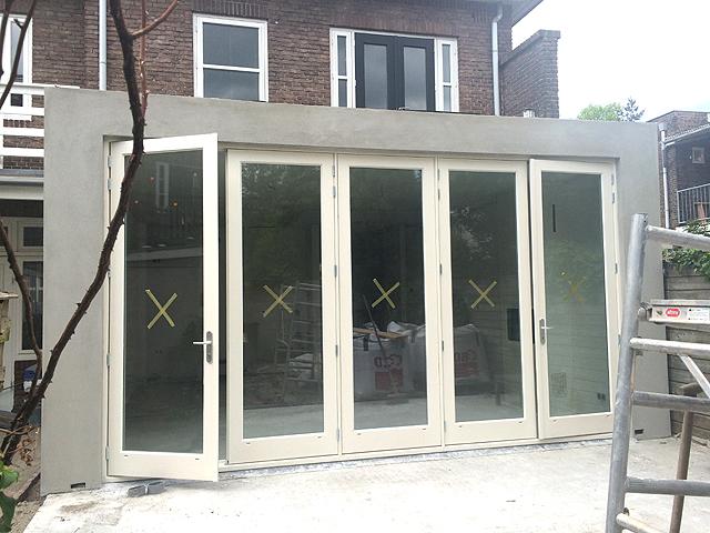 Doors Uitbouw Keuken : Moderne uitbouw utrecht boks architectuur