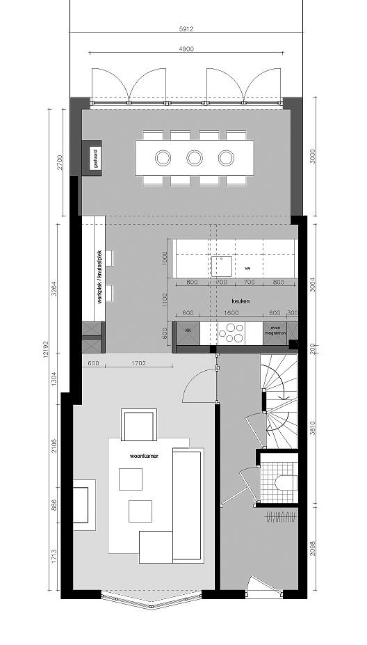 Prefab Keuken Aanbouw : Prefab Uitbouw Keuken : Prefast Uw huis uitbouwen met Prefast