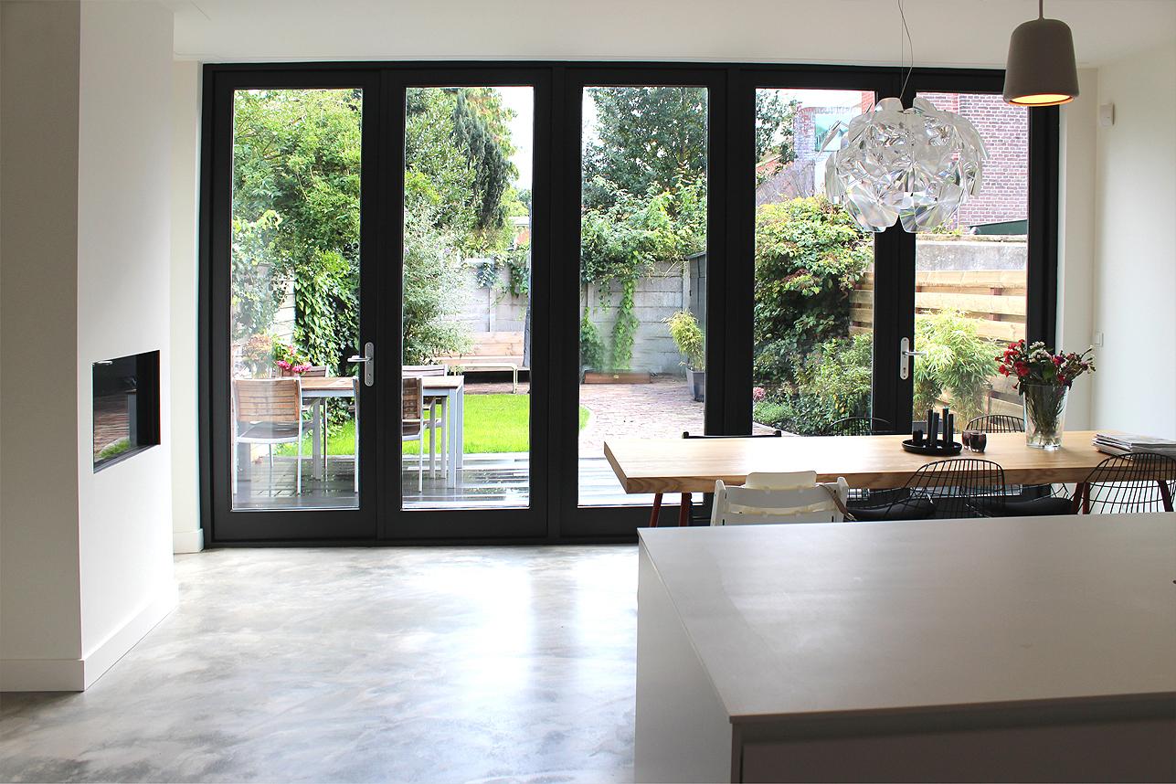 Glazen Pui Woning : Eindresultaat moderne uitbouw utrecht! boks architectuur