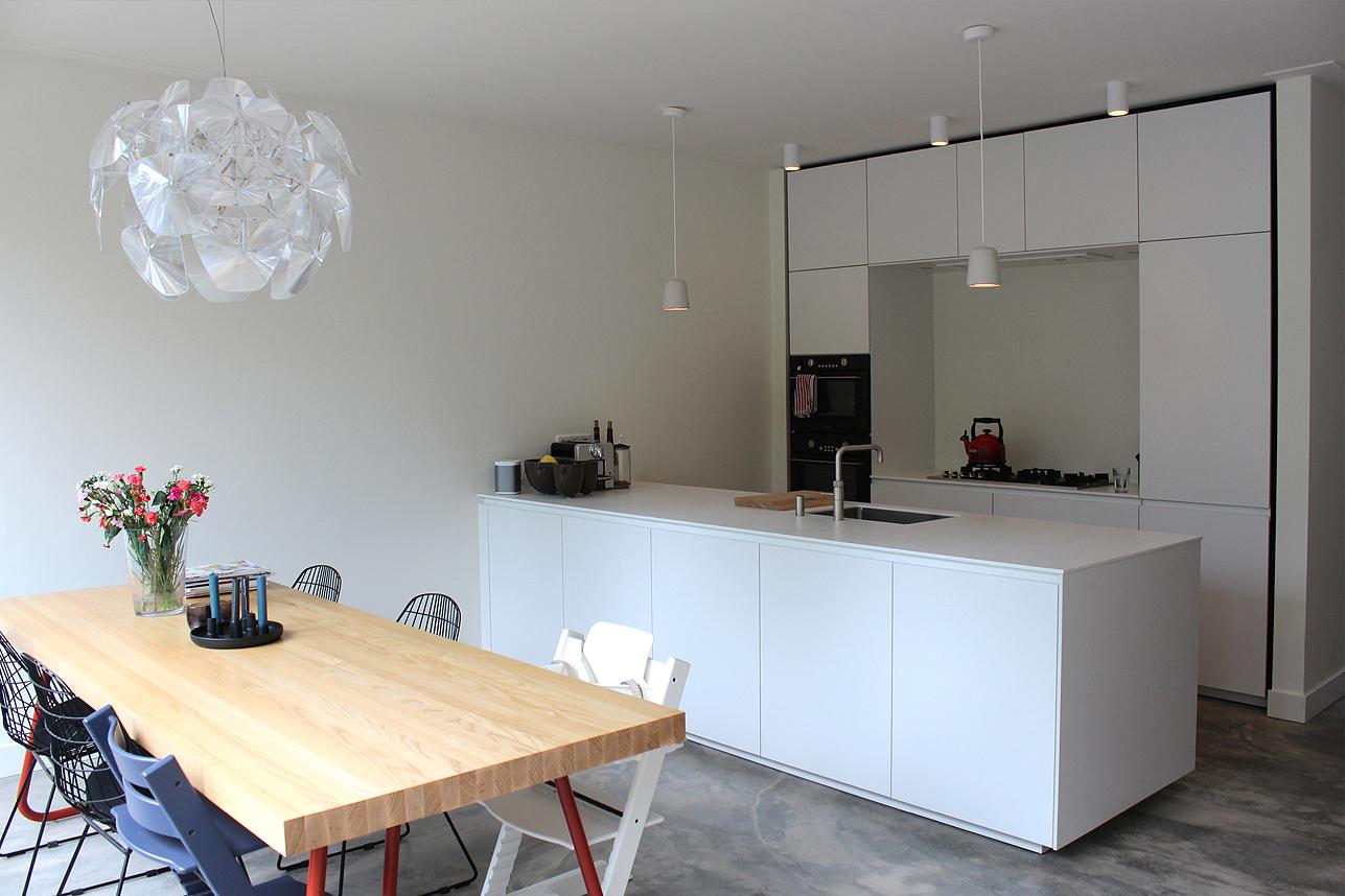 Keuken Uitbouw Design : Eindresultaat moderne uitbouw utrecht boks architectuur