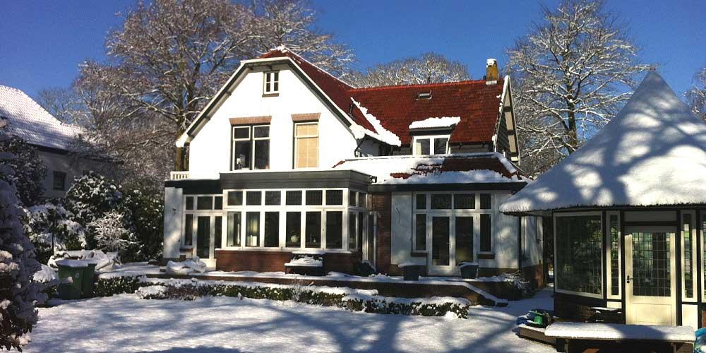 uitbouw villa Bergen